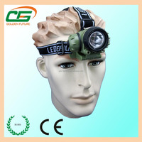 Waterproof outdoor camping cree led head lamp rechargeable led headlamp
