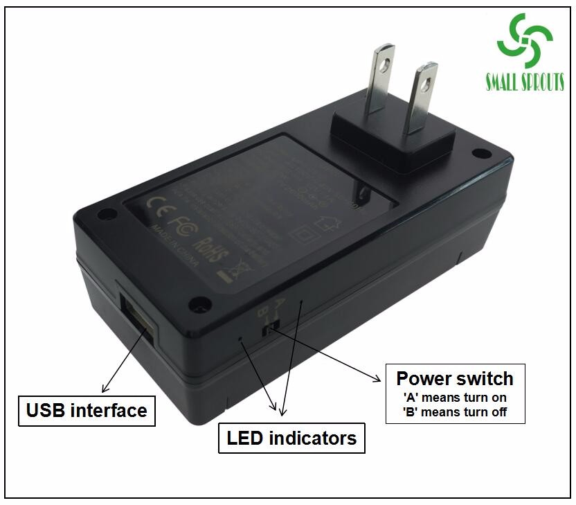 China manufacturer direct selling 12W mini DC 12V1A ups power supply for security