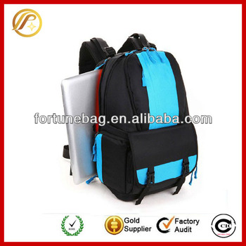 Durable stylish camera backpack bag for men and women