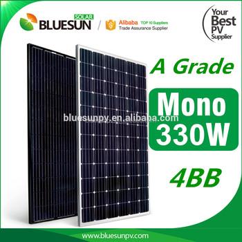 High Efficiency Pv Solar Panels 24v 330w 330 Watt Solar
