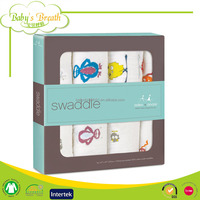 MS-04 Good Breathable Aden and Anais Oem Baby Muslin Swaddle Blanket