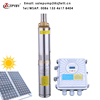 submersible dc solar pump deep well solar submersible pump price solar powered 1.5hp submersible water pumps