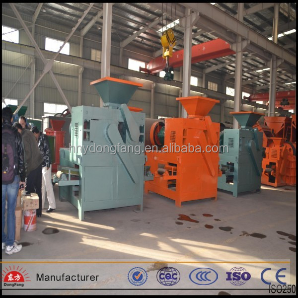 Various shapes made coal slurry ball roller machine/coal fine briquette forming machine
