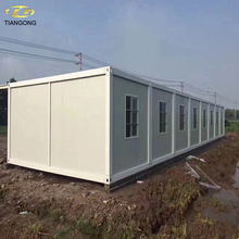 New style car garage real estates prefab container house
