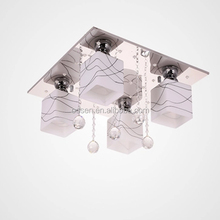 Glass shade ceiling base architecture light fitting