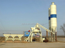 Mini ready mix batch plant whole set of HZS25 Screw Conveyor For Powder