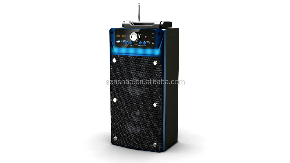 MS-104BT big sound speaker with bluetooth function,cheap price speaker support USB/SD/AUX/FM radio function