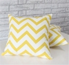 new style zigzag digital printed home decro couch pillow