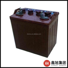 Reliable Quality Cheapest Price Factory Sale Lead Acid Golf Car Battery 6V/8V With ISO/CE Certificates In China