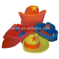 carnival party Sponge Foam cowboy hat MHH38