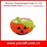 Halloween decoration (ZY11S346-1 3''x 4.5) halloween pumpkin bowl decoration, halloween pumpkin gift set, halloween gift