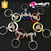 customized car metal keychain Promotion steering wheel Keychain