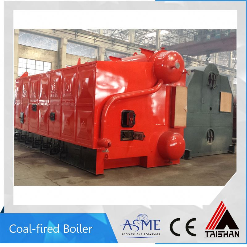 For France Market Big Heat Surface Eco-Environment Coal Fired Steam Boiler For Industry