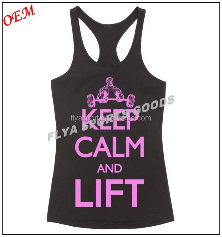 Wholesale fashion design colorful ladies yoga tank top in Dongguan