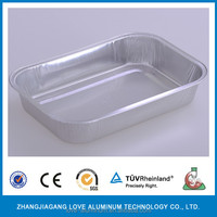 Coated Treatment and Food Use alu-container smooth wall