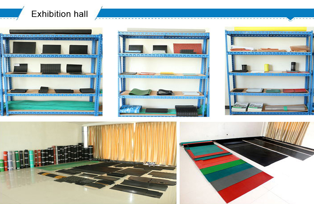 new product high wear resistant industrial reinforced rubber mats for sale