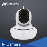 720p 360 rotation wireless voice recording cctv ip indoor home security dvr card camera connect to app