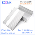 Extrusion Aluminum Material Electrical Junction Box extruded aluminum profile