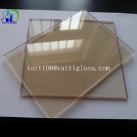 high quality best price 4mm 5mm 6mm fireproof ceramic glass fire rated fireplace glass