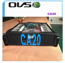 Crest Audio CA20 high power 2200W 4ohm stereo outdoor audio amplifier