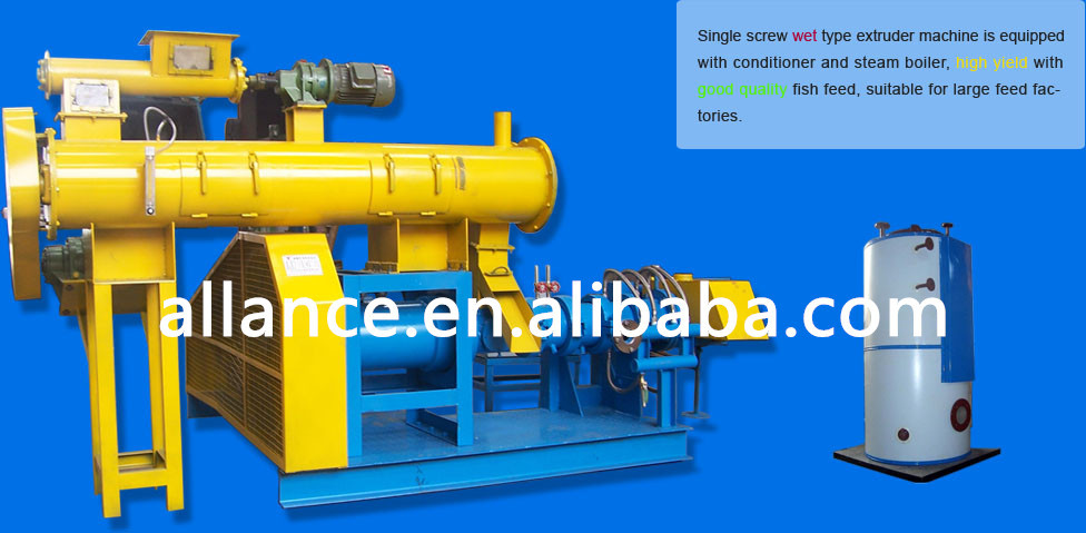 60-2000KG/H Dry type floating fish feed machine for aquatic animals catfish,tilapia,Halibut, Cat Carp, Trout, Hemp