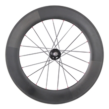 2017 hot sale 86mm tubular fixed gear wheel carbon track bike wheels