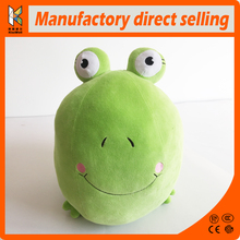 frog prince plush good green toy with bright smiling face funny stuffed animals