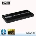 4 RJ45 ports 2x8 HDMI switch/splitter wholesale