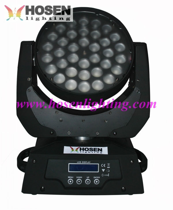 Manufacture ! 360w RGBW 4in1 LED Moving Head wash light with zoom