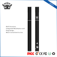 China buttonless vape pen adjustable voltage BUD atomizer disposable ecig empty