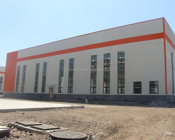 Economic Processing Prefabricated Steel Structure Food Beverage Workshop Factory Building