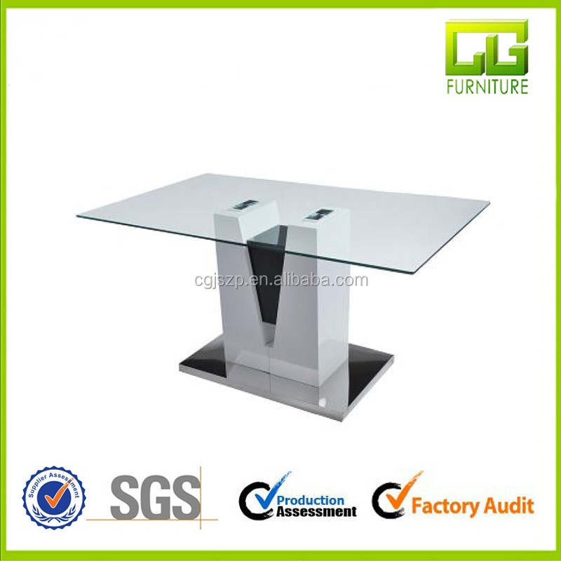 Living room furniture glass top dining coffee tables for wholesale