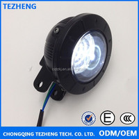 Hot sale angel eyes 12V 3W headlights LED motorcycle headlights