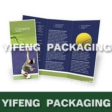 2012 top-grade folded leaflet handbill printing and design