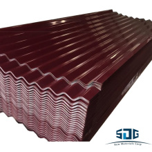 corrugated metal roofing sheet/tile, Ral color code,0.23mm*900mm with cheap prices export toSt. Vincent