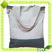 high quality OEM logo silk screan printed eco shopper tote beach easy carry promotional cotton hand bag