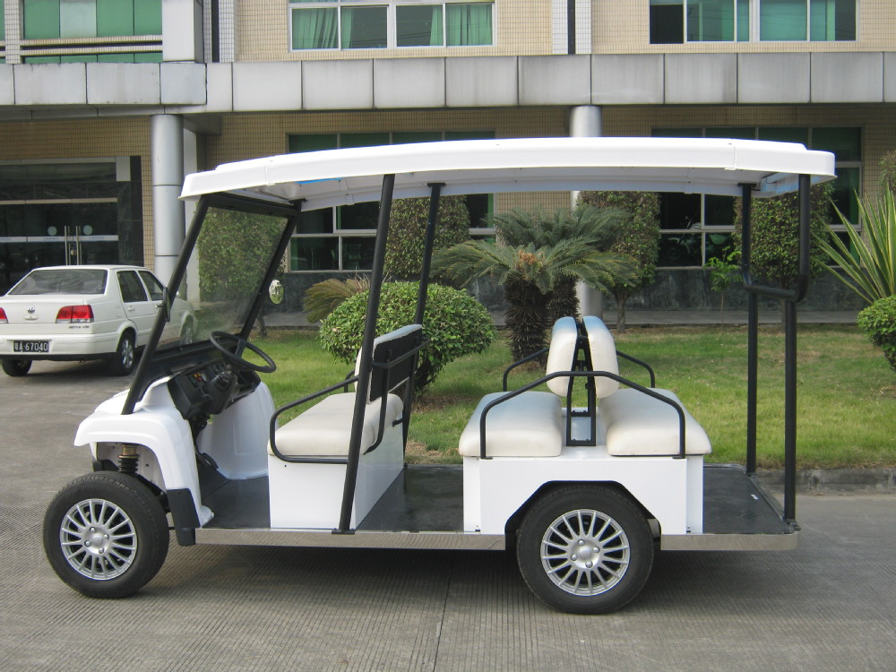 Attractive left steering modern electric passenger car 48V cheap club car
