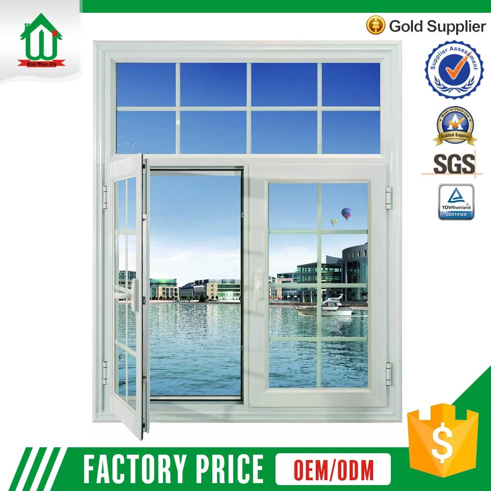 2016 new style french used aluminum casement windows