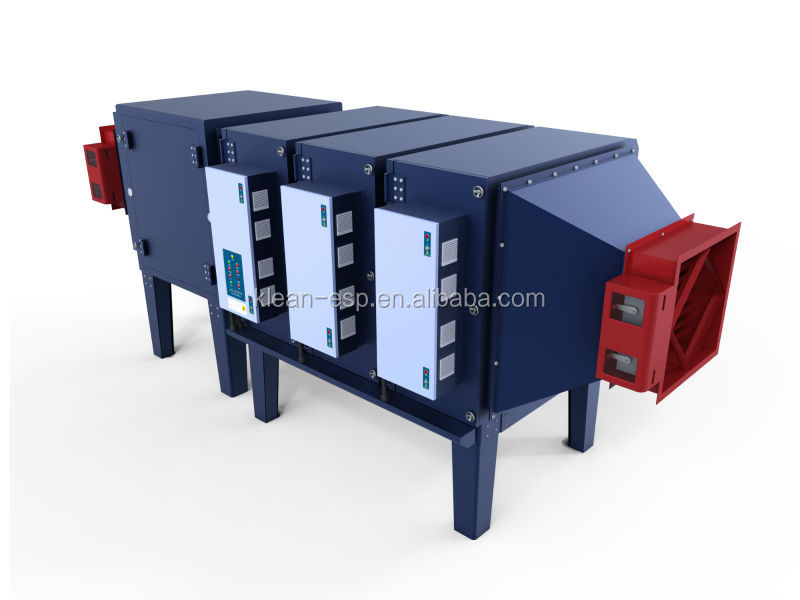 Industrial air ionizer Unit for disposable glove