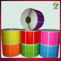2014 colorful heat transfer thermal label
