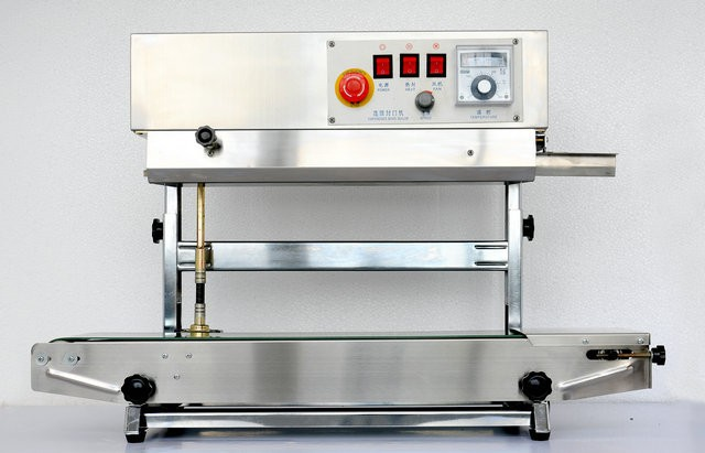 FRD900IS Vertical Horizontal Stainless Steel Continuous Sealing Machine Packing Machinery Capper