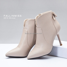 Sexy pu leather ankle boots 2015 winter shoes 2014 fashion ladies winter boots
