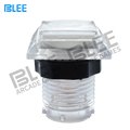 Arcade machine parts factory direct wholesale zero delay switch white translucent LED arcade push button