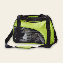 Foldable outside travel pet carrier bag for small pet