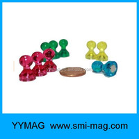 China factory cheap price color magnetic push pins for sale