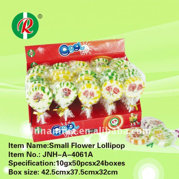 Small flower lollipop/fruit lollipop