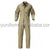 china men garment factory oem pilot suit/fly coverall