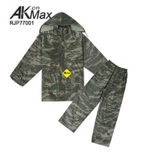 Tactical Poncho Military Raincoat Police Rainsuit For Outdoor Wearing