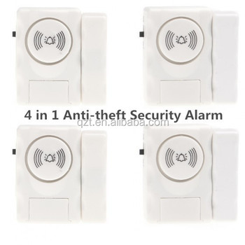 Cost-effective 4 in 1 Anti-theft Security Alarm System Ideal Entry Warning for Home Workshop and Office