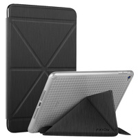 Foldable tablet case for iPad mini 1/2/3/4, auto sleep TPU+PU leather case
